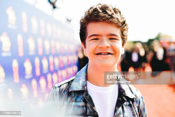 Gaten Matarazzo attends the 2019 MTV Movie and TV Awards at Barker Hangar on June 15 2019 in Santa Monica California