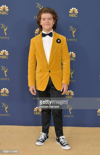 Gaten Matarazzo attends the 70th Emmy Awards at Microsoft Theater on September 17 2018 in Los Angeles California