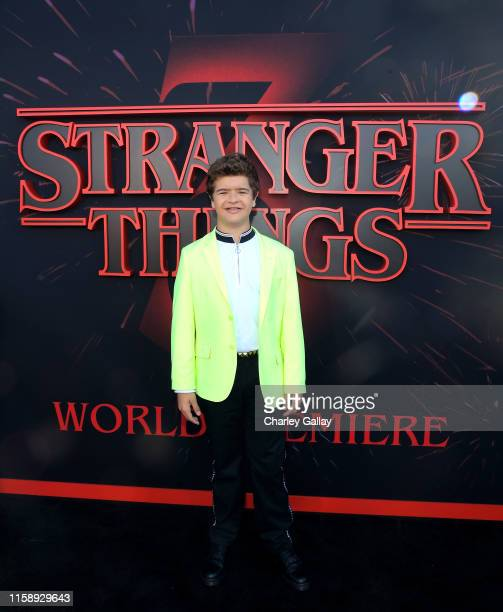 Gaten Matarazzo attends the Stranger Things Season 3 World Premiere on June 28 2019 in Santa Monica California