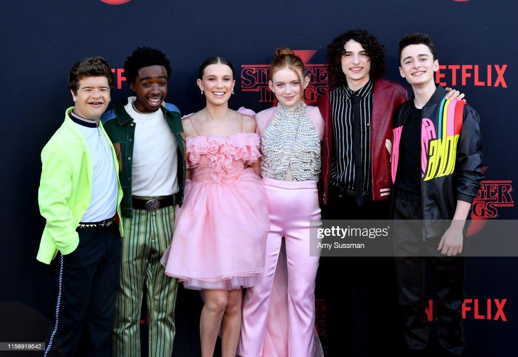"Premiere Of Netflix's ""Stranger Things"" Season 3 - Arrivals : News Photo"