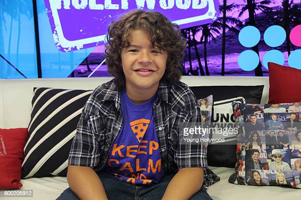 Gaten Matarazzo from Stranger Things visits the Young Hollywood Studio on September 6 2016 in Los Angeles California
