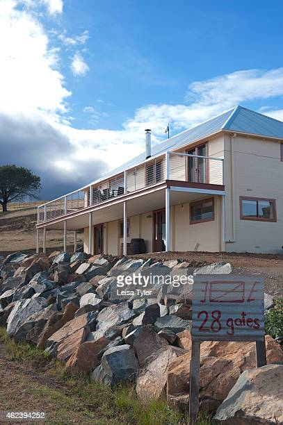 Gates is a renovated 1930s stables cum sheerer quarters that has been turned into guest accommodation set on a 6000 acre station in Tasmanias...