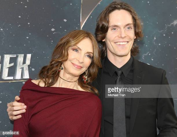 Gates McFadden and James McFadden Talbot attend the Los Angeles premiere of CBS's Star Trek Discovery held at The Cinerama Dome on September 19 2017...