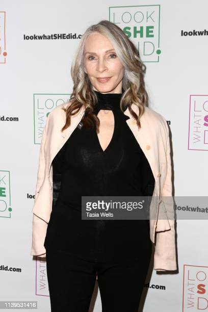 Gates McFadden attends the Look What SHE Did Benefit Brunch at Jar on March 31 2019 in Los Angeles California