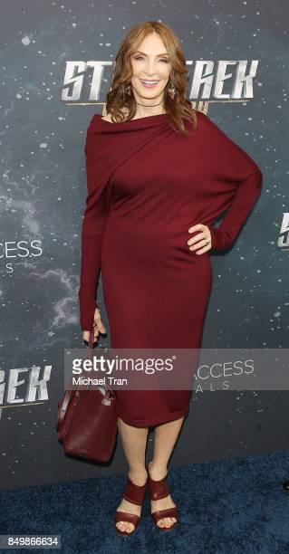 Gates McFadden attends the Los Angeles premiere of CBS's Star Trek Discovery held at The Cinerama Dome on September 19 2017 in Los Angeles California