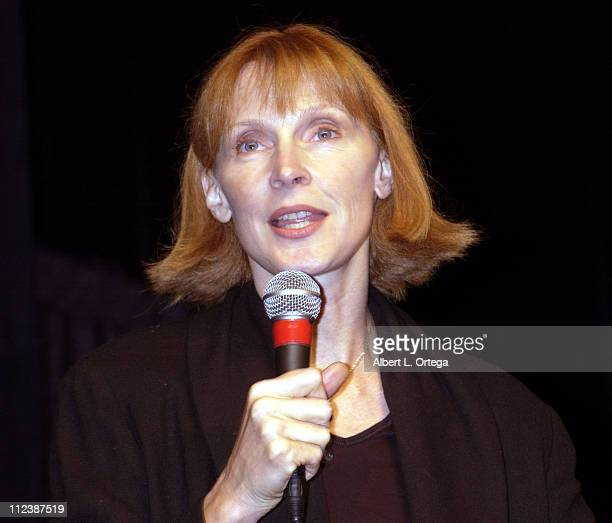Gates McFadden during 15th Anniversary of Star Trek The Next Generation Convention Day 2 at Pasadena Civic Auditorium in Pasadena California United...