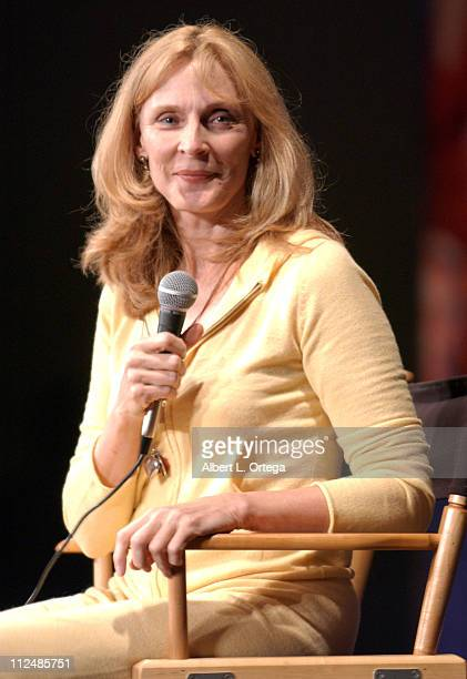 Gates McFadden during Creation Entertainment's Grand Slam XIII The SciFi Summit Day One at Pasadena Civic Auditorium in Pasadena CA United States
