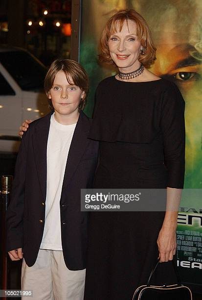 Gates McFadden son Jack during Star Trek Nemesis World Premiere at Grauman's Chinese Theatre in Hollywood California United States