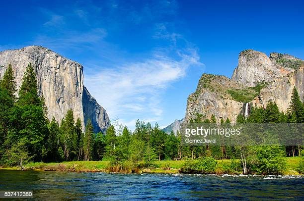 gates of the valley yosemite - yosemite valley stock photos and pictures