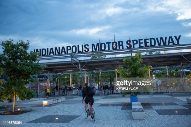 Gates open for the 103rd running of the Indy 500 at the Indianapolis Motor Speedway on May 26 2019 in Indianapolis Indiana