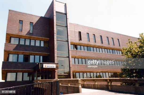 Gateshead Police Station. Circa 1998.