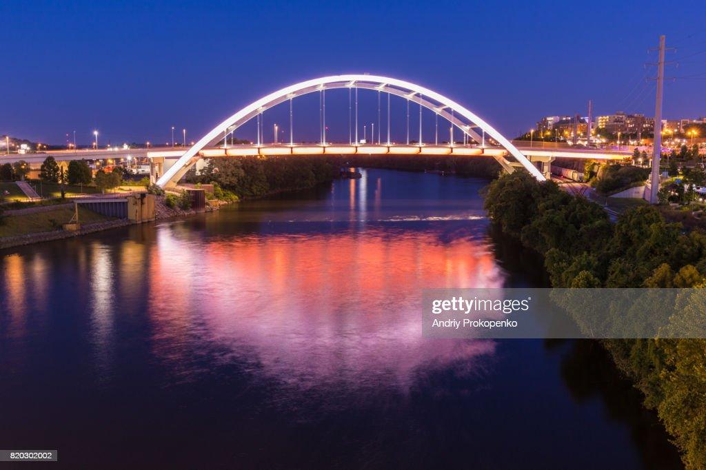 Gateway Boulevard Bridge in Nashville, Tennessee, USA : Stock Photo