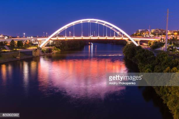 Gateway Boulevard Bridge in Nashville, Tennessee, USA