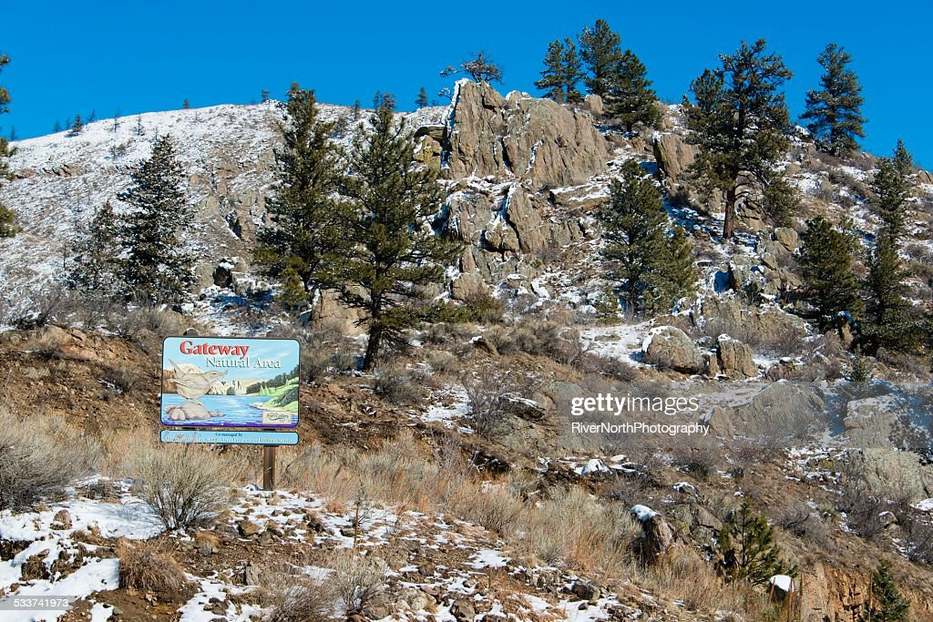 Gateway Area naturale, Poudre Canyon : Foto stock