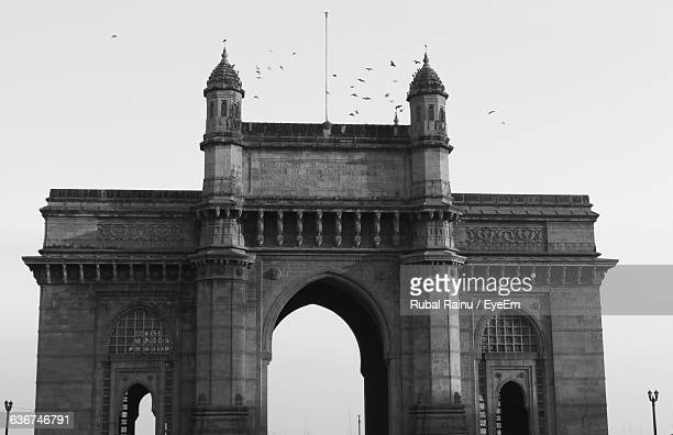 Gateway Of India Against Clear Sky In City