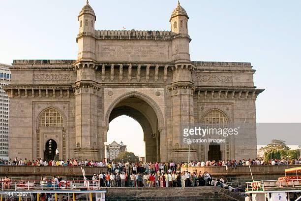 Gateway Of India Colaba Bombay Mumbai Maharashtra India