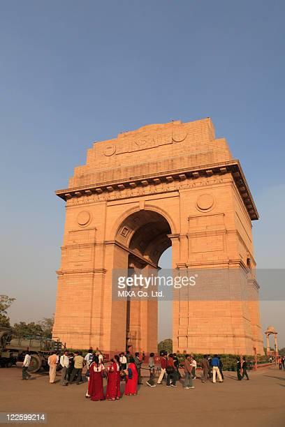 gateway of india, delhi, india - ニューデリー ストックフォトと画像