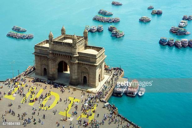 gateway of india, mumbai, india - mumbai stock pictures, royalty-free photos & images