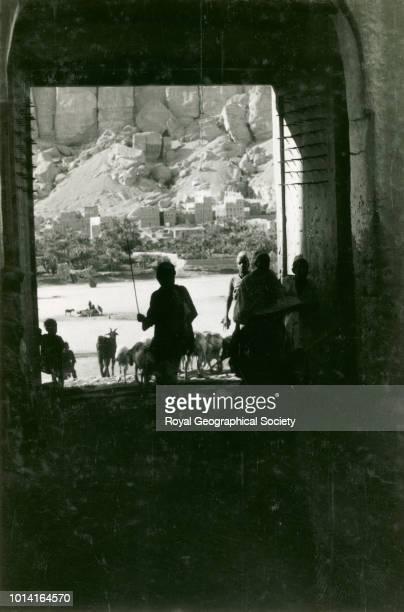 Gateway Shibam Hadhramaut Yemen 1929