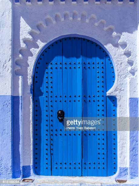 gateway to chefchaouen - tetouan stock photos and pictures