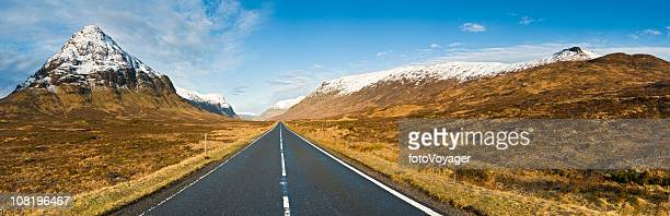 gateway to glen coe scotland - grampian scotland stock pictures, royalty-free photos & images