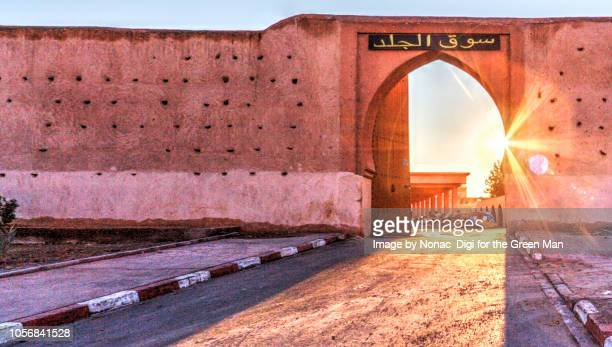 gateway to medina - stadttor stock-fotos und bilder