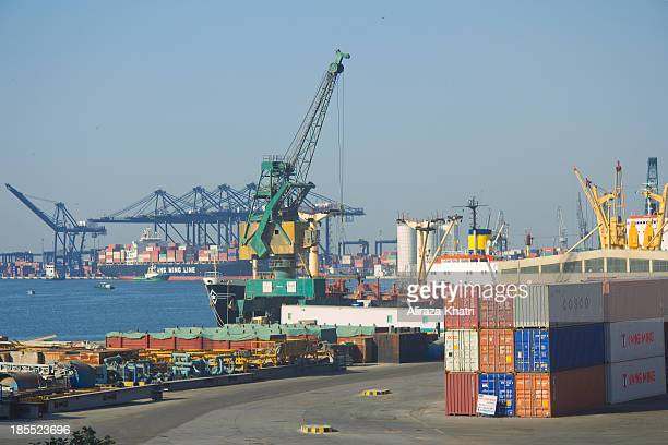 Gateway to trade into Pakistan, Karachi port is one of connecting way from the gulf arabian to China, Middle east and Europe through silk route.
