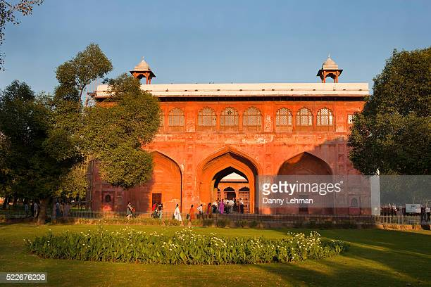 Gateway within the Red Fort, Old Delhi, India