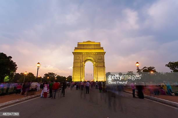 Gathering at India Gate