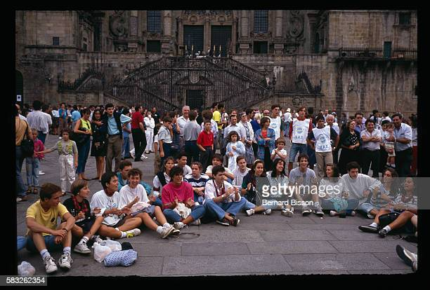 Gathering of world Christian youth in Santiago de Compostela