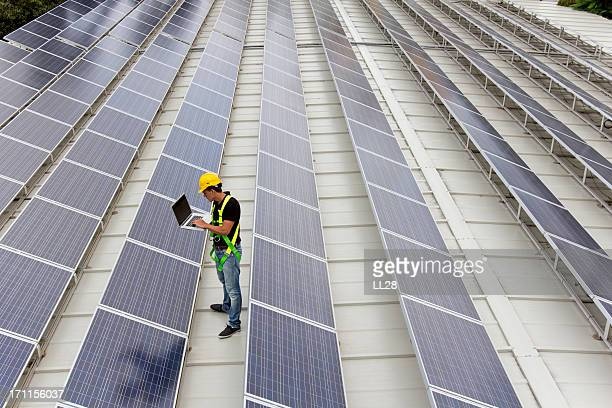 gathering solar data - solar powered station stock pictures, royalty-free photos & images