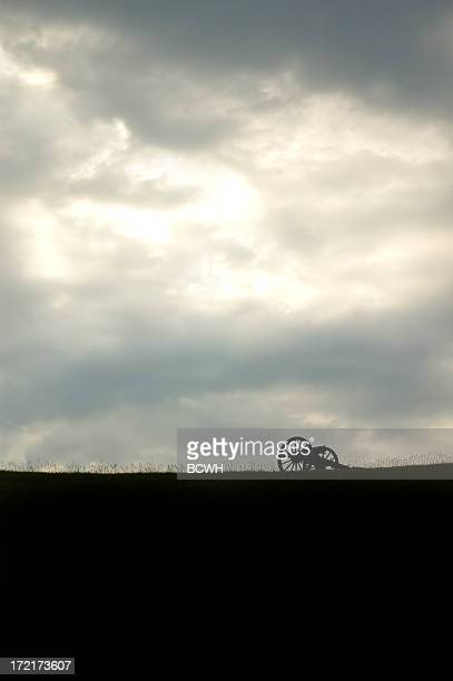 gathering storm - cannon stock pictures, royalty-free photos & images