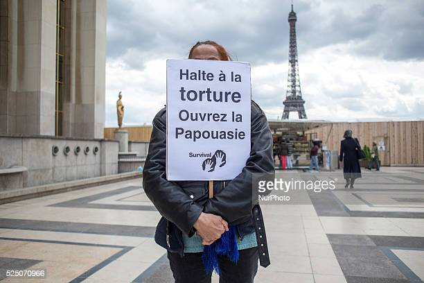 A gathering took place at the Trocadero in Paris France on April 29 2015 The gathering was a protestation against 50 Years of Isolation of the...