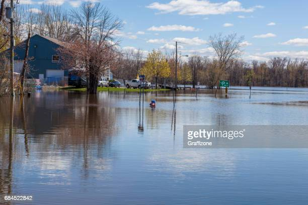 gatineau flooding - gatineau stock pictures, royalty-free photos & images
