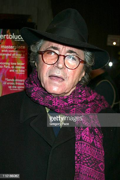 Gato Barbieri composer during The Dreamers New York Premiere Inside Arrivals at The Beekman Theatre in New York City New York United States