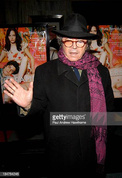Gato Barbieri during The Dreamers Premiere New York Inside Arrivals at Beekman Theater in New York City New York United States