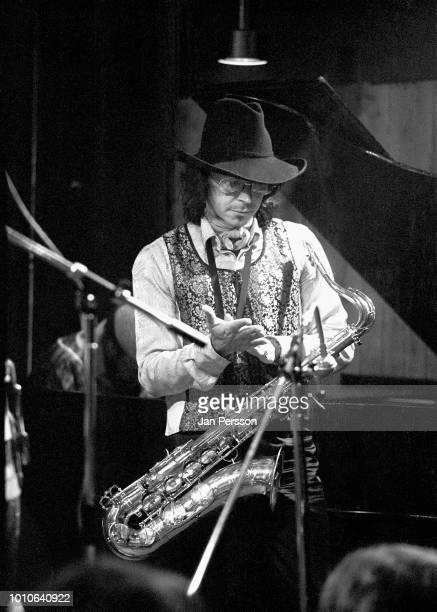 Gato Barbieri performing at Jazzhouse Montmartre Copenhagen 6 November 1972 Argentinian jazz saxophonist