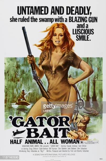 Gator Bait poster US poster Claudia Jennings 1974