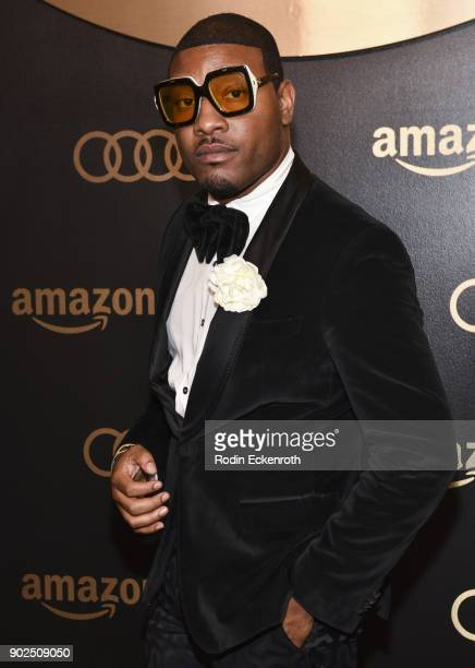 Gatsby Randolph arrives at the Amazon Studios Golden Globes Celebration at The Beverly Hilton Hotel on January 7 2018 in Beverly Hills California