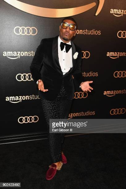 Gatsby Randolph attends Amazon Studios' Golden Globes Celebration at The Beverly Hilton Hotel on January 7 2018 in Beverly Hills California