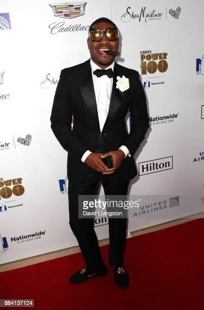 Gatsby Randolph attends Ebony Magazine's Ebony's Power 100 Gala at The Beverly Hilton Hotel on December 1 2017 in Beverly Hills California