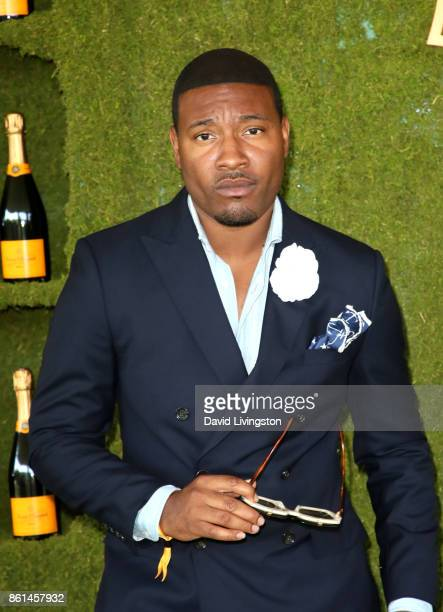 Gatsby Randolph attends the 8th Annual Veuve Clicquot Polo Classic at Will Rogers State Historic Park on October 14 2017 in Pacific Palisades...