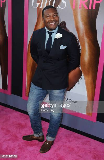 Gatsby Randolph attends the Premiere of Universal Pictures' 'Girls Trip' at Regal LA Live Stadium 14 on July 13 2017 in Los Angeles California