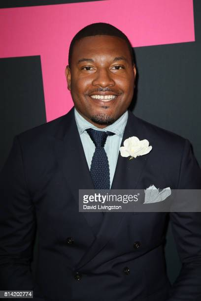 Gatsby Randolph attends the premiere of Universal Pictures' Girls Trip at Regal LA Live Stadium 14 on July 13 2017 in Los Angeles California