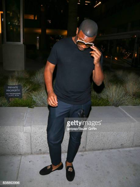Gatsby Randolph is seen on August 24 2017 in Los Angeles California