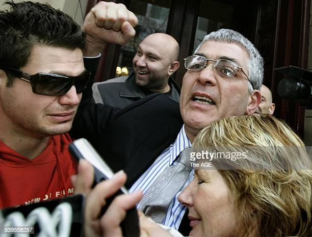 Gatto Dominic Mick Gatto walked free from the Supreme Court after being aquitted of murdering Andrew Veniamin in a Carlton restaurant in 2004 hugs...