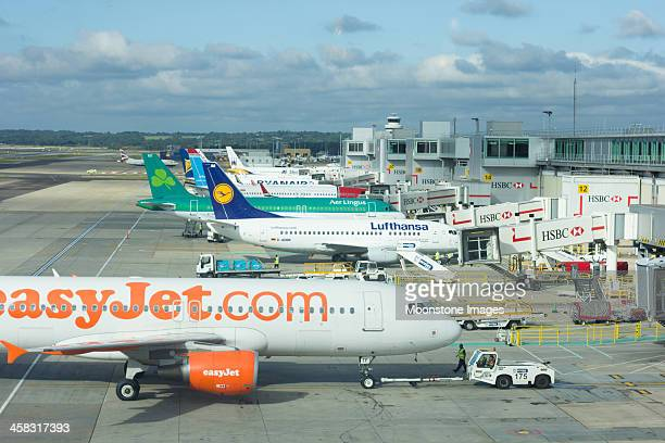 Gatwick Airport in Surrey, England