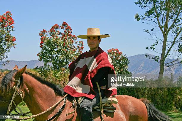 CONTENT] Gaucho in the wine country of Chile between Valparaiso and Santiago