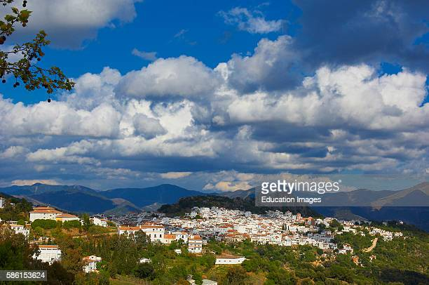 Gauc'n, Genal river valley, Serran'a de Ronda, White Village, M‡laga province, Andalusia, Spain.