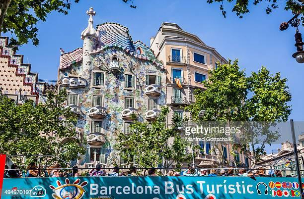 Gaudi's Casa Batllo Barcelona